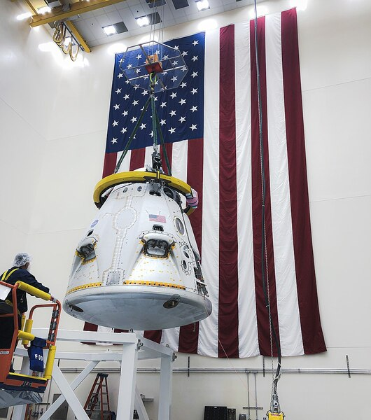 SpaceX Just One Week Away From Launching 1st Astronauts On Crew Dragon For NASA