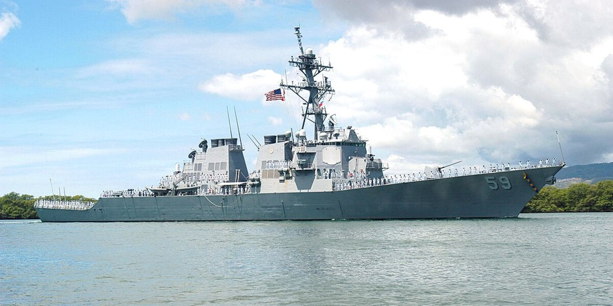 China Warns Risk Of Naval Incident With US On The Rise