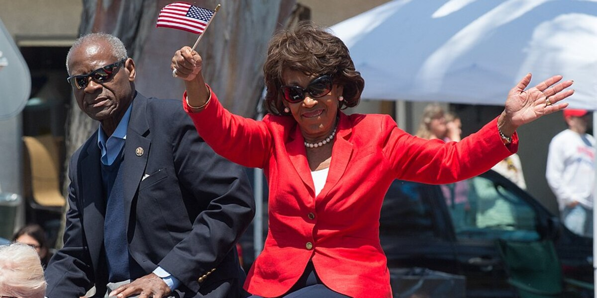 Maxine Waters Says Biden 'Can't Go Home Without A Black Woman Being VP'
