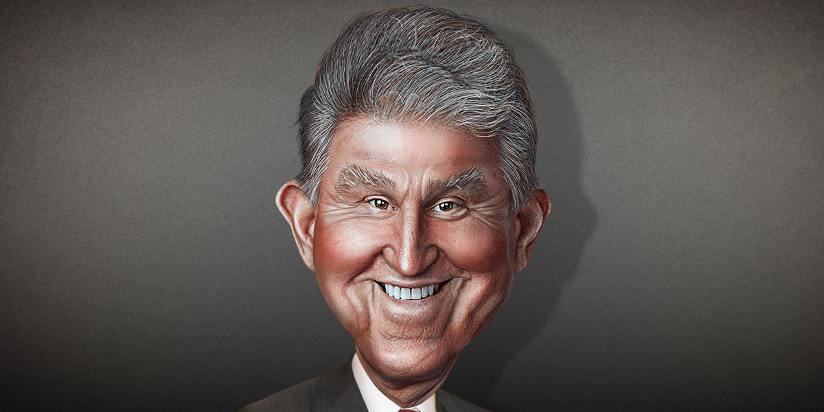 Manchin Says He Can't Support Biden's $3.5 Trillion Spending Plan