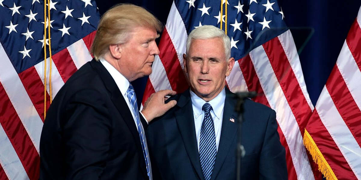 Trump: 'Too Soon To Tell' If Pence Would Be Running Mate In 2024