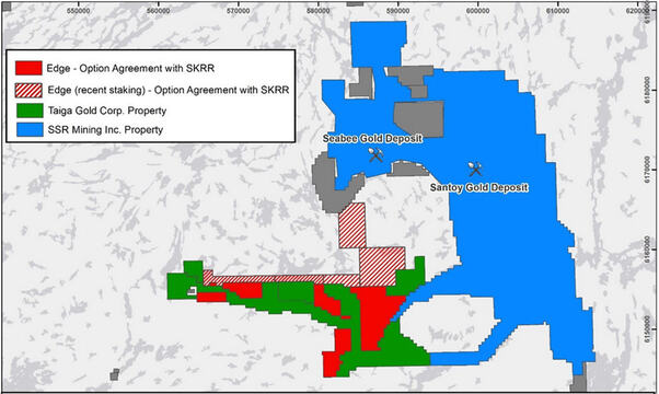 SKRR Adds Additional Claims Via New Option On Irving Gold Property
