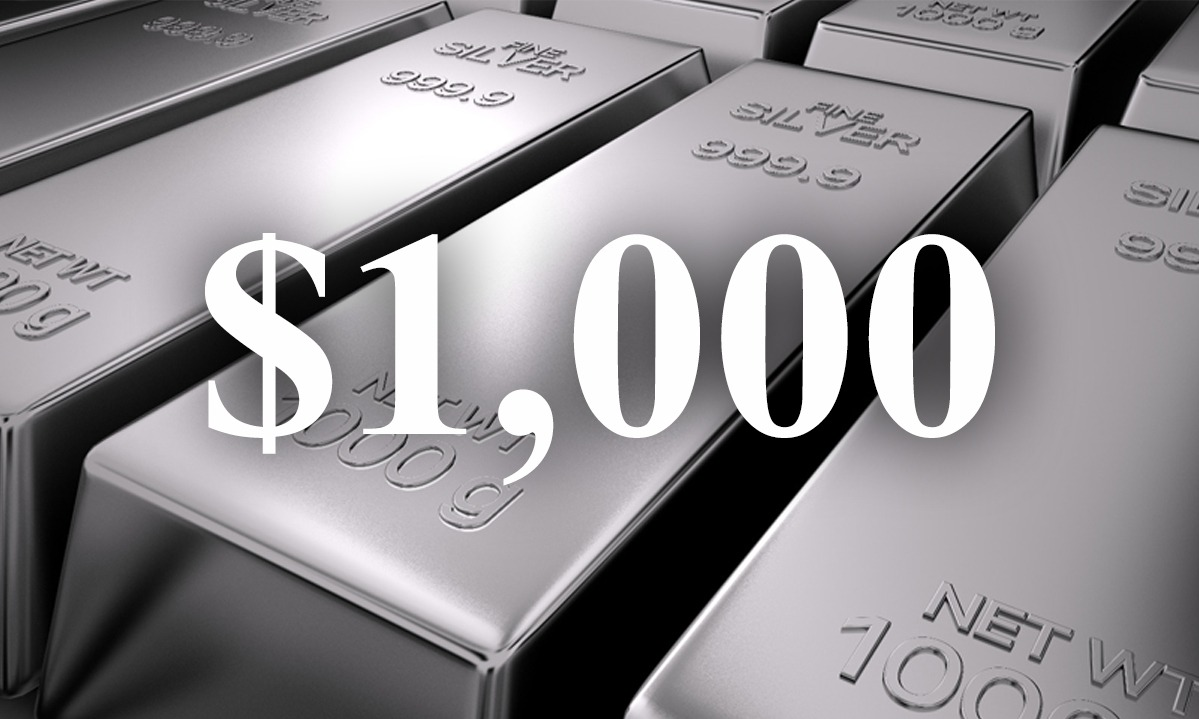 Did Eric Sprott Just Call $1,000/oz Silver?