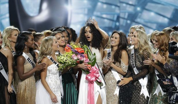 Black Miss USA plus conservative views equals angry left