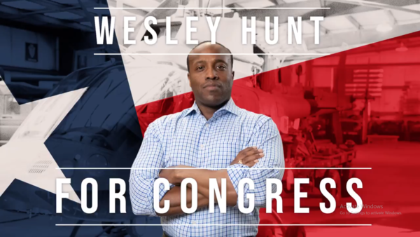 Wesley Hunt for Texas' 7th District