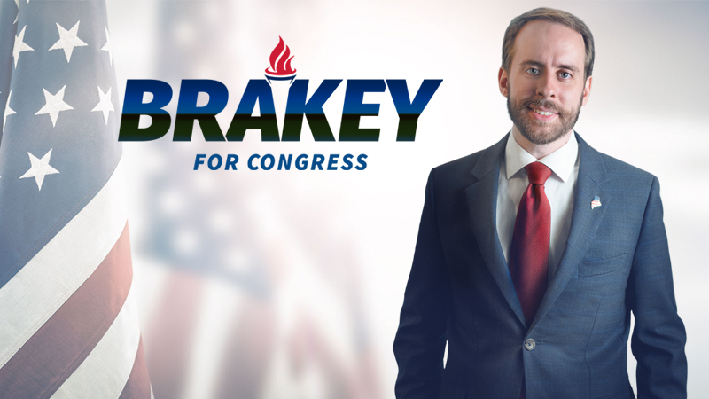 Eric Brakey files for 2020 race in Maine's 2nd District, saying he's '99.9 percent there' on a run