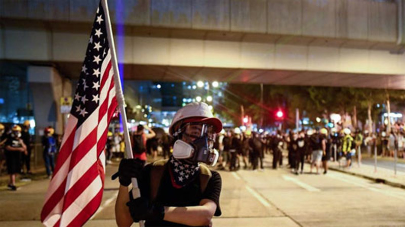 'Terrorism'? China vows Hong Kong crackdown 'without mercy'