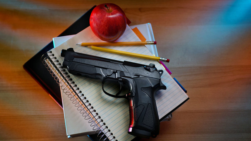 Ohio Senate OKs bill allowing teachers to carry guns at school without needing peace-officer training