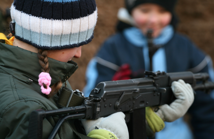 Gun safety classes for elementary school kids