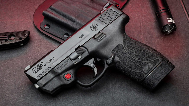 Smith & Wesson launches Shield M2.0 with Crimson Trace laser in .45 Auto