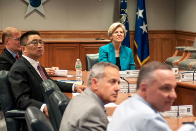 Elizabeth Warren has a Tin Ear on the Second Amendment