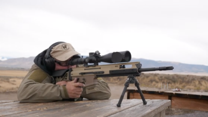 FN Delivers New SCAR 20S Precision Rifle to Commercial Market (VIDEO)