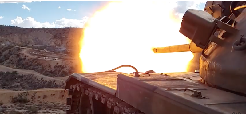 M60A1 Tank Shakes the Earth at the Big Sandy Shoot (VIDEO)