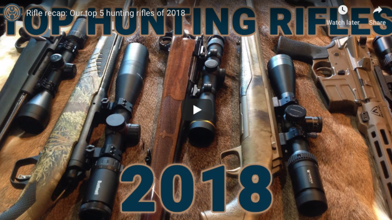 Rifle recap: Our favorite hunting rifles of 2018 (VIDEO)