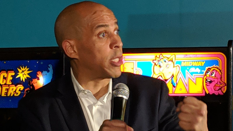 Cory Booker: Americans should be 'thrown in jail' if they won't give up their guns