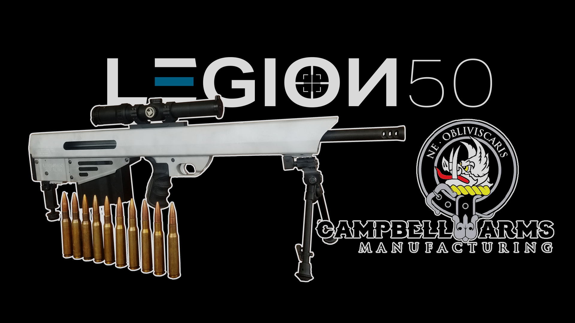 LEGION 50 <br /> 40% OFF A .50 BMG | ONLY 30 AVAILABLE.
