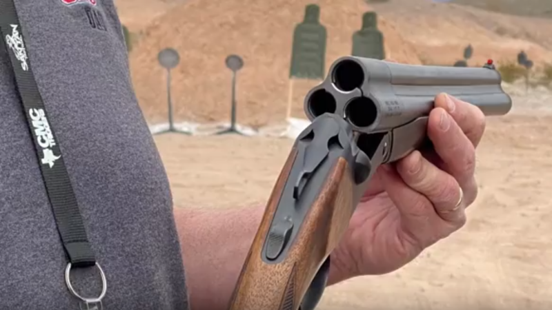 Triple Barrel Shotgun! at SHOT SHOW RANGE DAY 2020