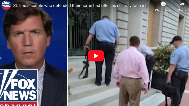 Watch: Missouri man who guarded home with rifle reveals that 'rumor is' he and wife will be 'indicted shortly'