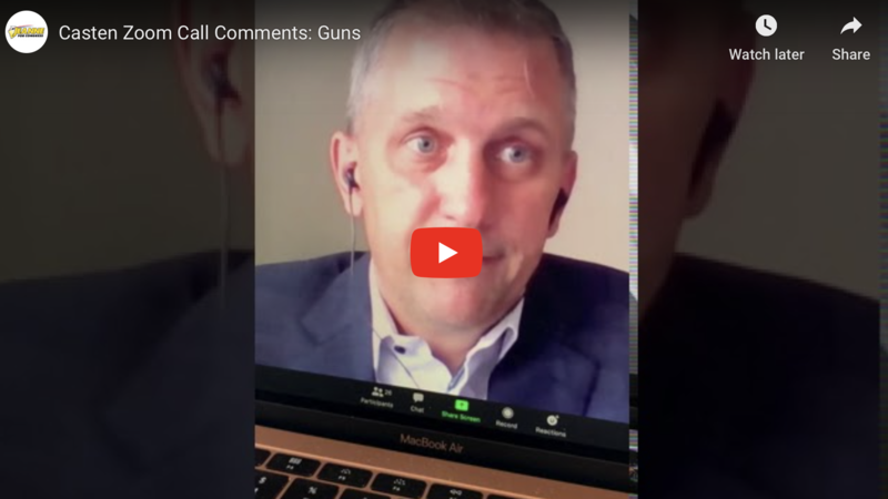 """WATCH: Democrat Rep. Says Gun Owners All Have """"Small Genitals"""""""