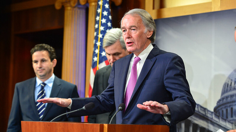Ed Markey: 'Disarm' All Police Officers of 'Weapons of War,' Ban Tear Gas