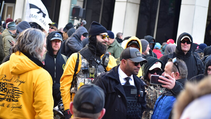 Proud Boys Leader Arrested in Connection With Burning of Black Lives Matter Banner and 2 Gun Magazines