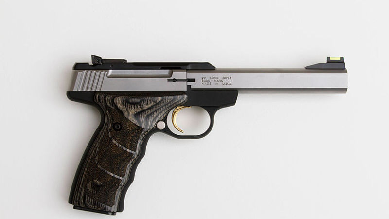 Pistols are the world's most seized type of firearm