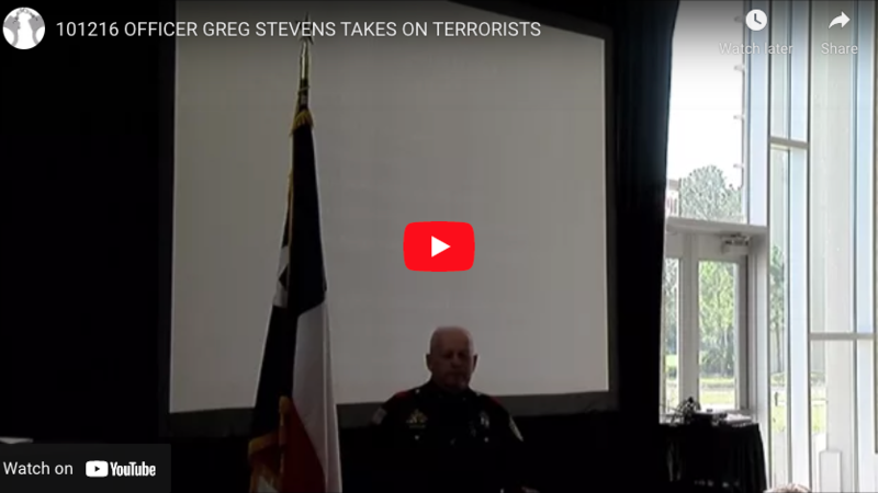 How a Texas Gunfighter Cop Stopped the ISIS Attack in Garland, Texas
