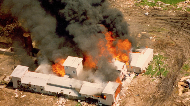 Biden Re-Ignites The Waco Fire