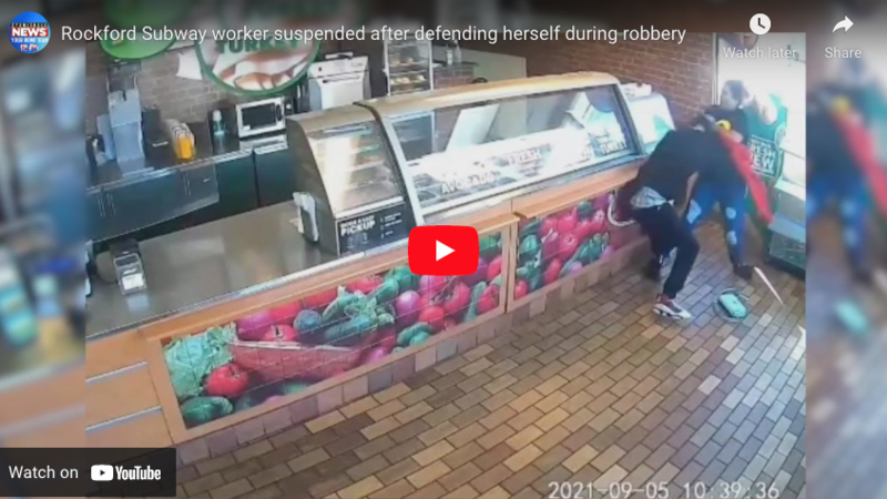 Watch: Subway Worker Suspended After Defending Herself From Armed Robber
