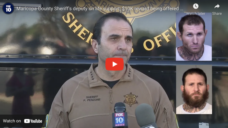 (VIDEO) Convicted Pedophile On the Run After Vicious Beating of Cop Shot By Homeowner During Attempted Home Invasion