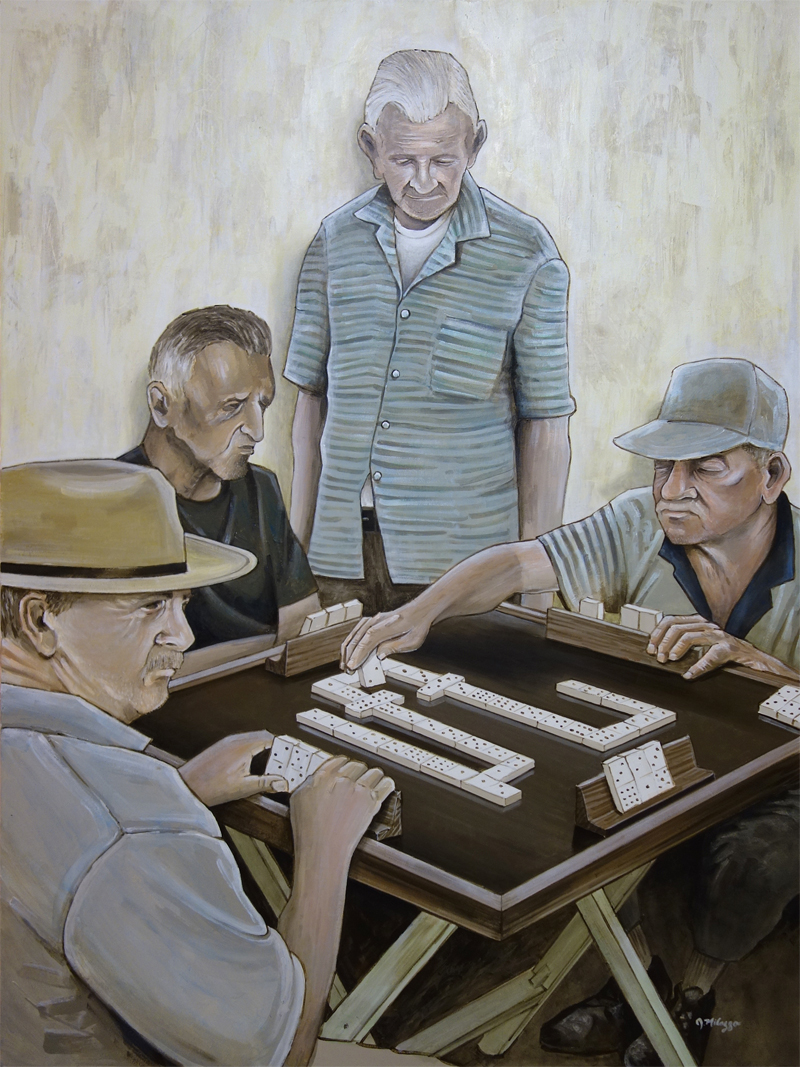 Los jugadores de dominó (The Domino Players)