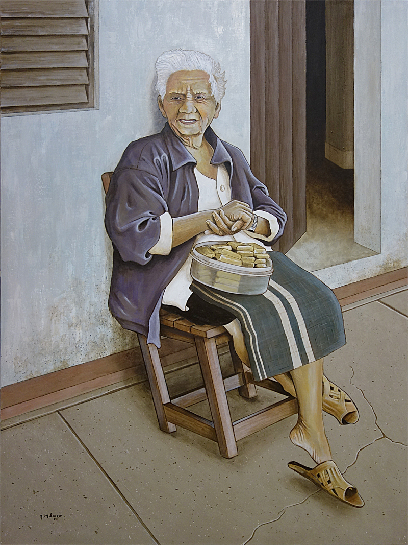 La viejita vendiendo dulces (The Little Old Lady Selling Sweets)