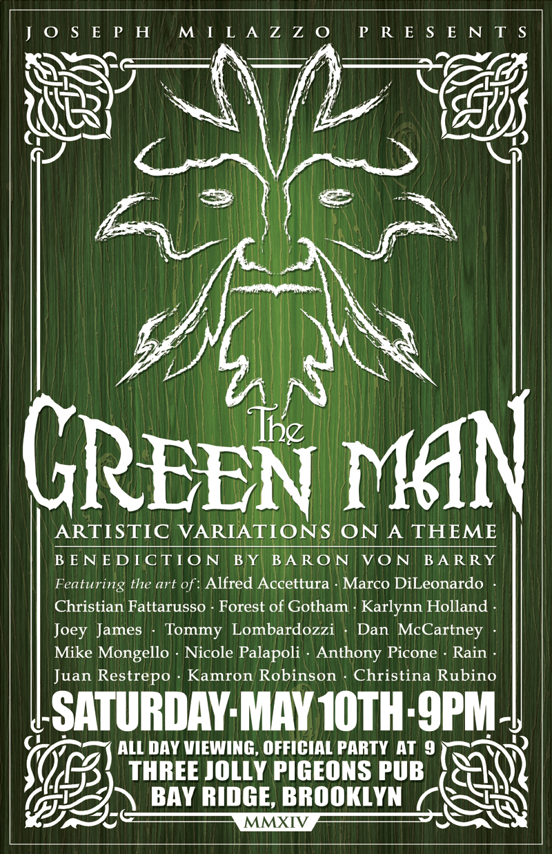 The Green Man: Artistic Variations on a Theme