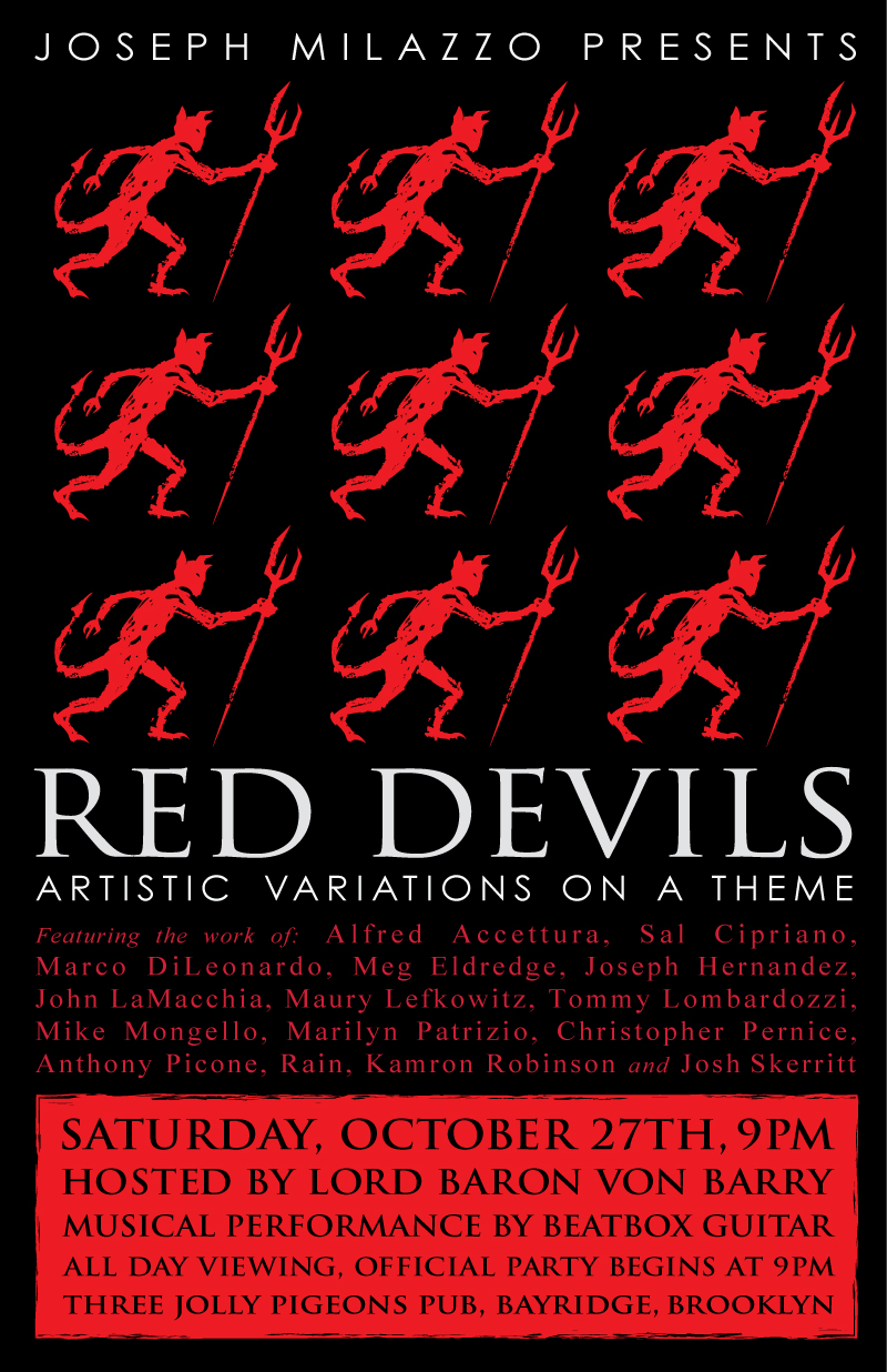 Red Devils: Artistic Variations on a Theme