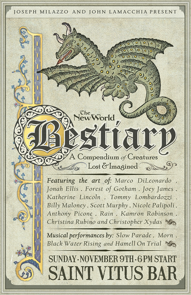 The New World Bestiary