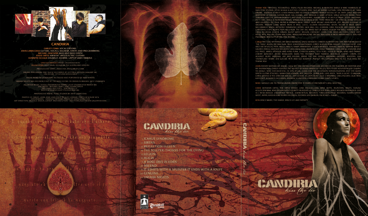 Candiria Kiss The Lie