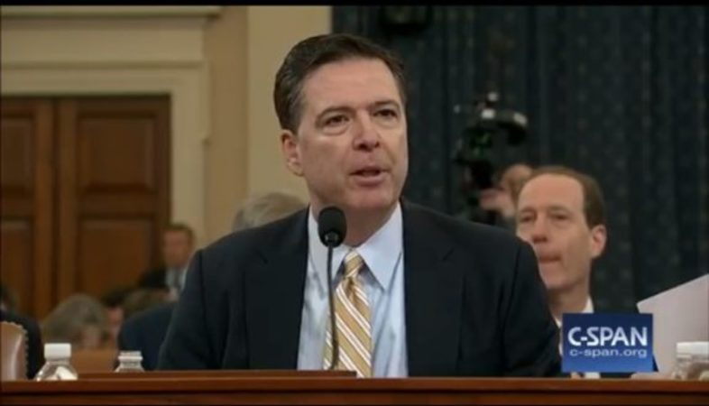 DAILY CALLER NEWS FOUNDATION AND JUDICIAL WATCH SEEK TO PRESERVE COMEY'S PRIVATE EMAILS