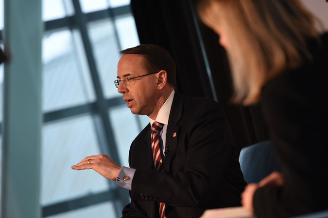 Leftists plan to 'take the streets' should Trump fire Rosenstein
