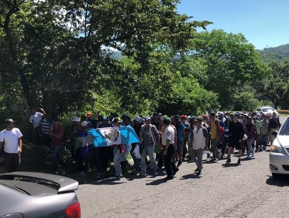 VIDEO: Migrant Caravan has People 'From All Over the World'
