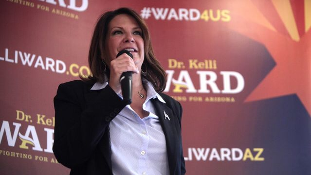 Joyce Wants You To Support Dr. Kelli Ward For US Senate