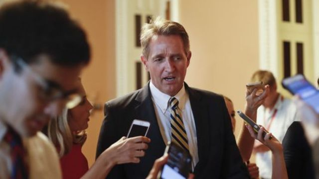Jeff Flake is trying to have it both ways: Kelli Ward