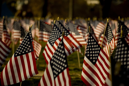 Thousands of Flags at Tempe Beach Park Honor Lives Lost on 9/11