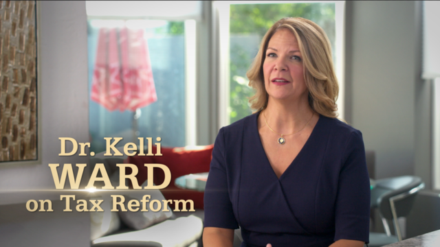 Ward for Senate campaign releases new digital ad on tax reform