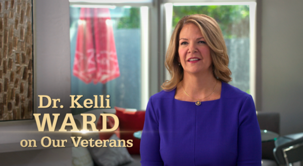 "Ward for Senate campaign releases new ""Support Our Veterans"" digital ad"