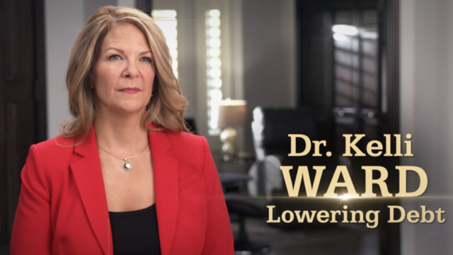 "Ward for Senate campaign releases new ""Lowering Debt"" digital ad"