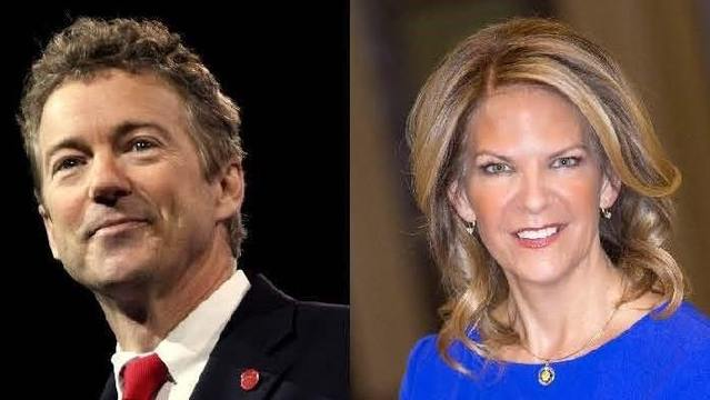 Rand Paul Campaigns for Senate Candidate Kelli Ward, Calls for 'Battle' Against Establishment