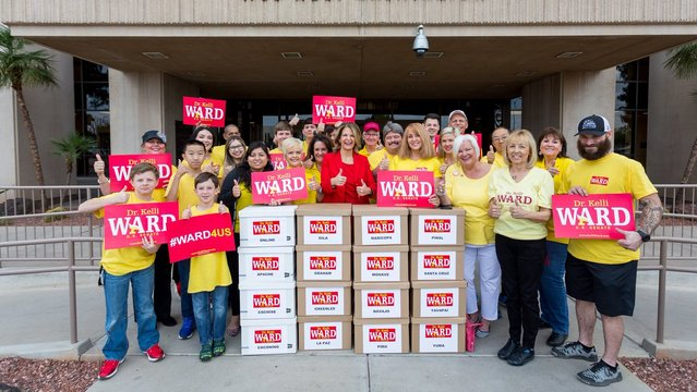 KTAR News: With 12,000 signatures, Kelli Ward officially on U.S. Senate ballot