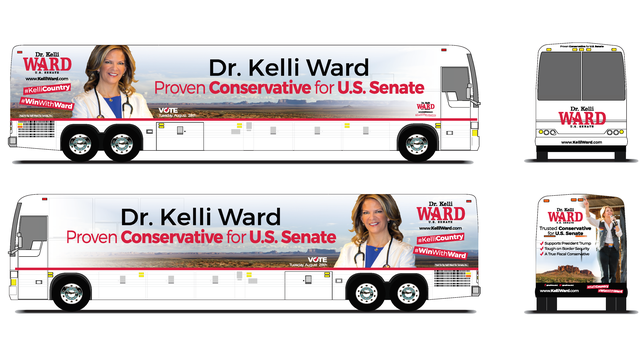 "Dr. Kelli Ward Announces ""Road to Victory"" Bus Tour"