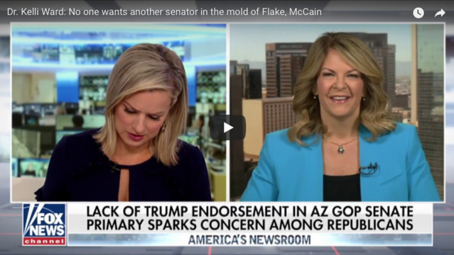 Dr. Kelli Ward: No one wants another senator in the mold of Flake, McCain