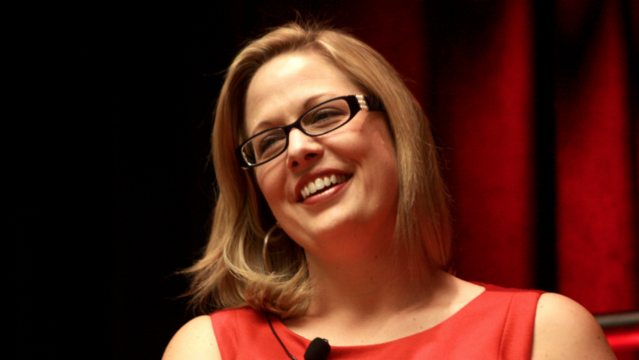 Emails: Kyrsten Sinema summoned witches to her anti-war rally